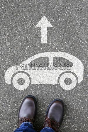 man man car vehicle road mobility