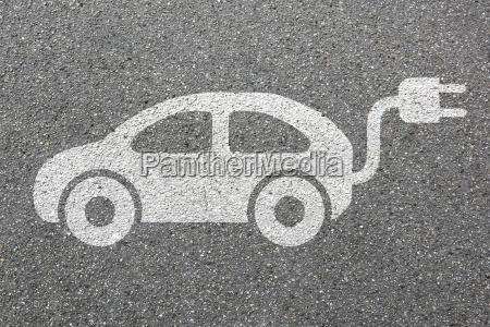 electric car electric car vehicle road