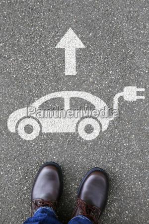 man man electric car electric car