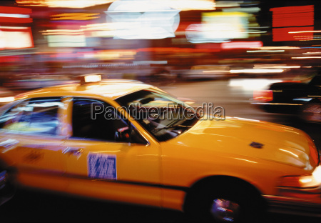 new york city taxi at times
