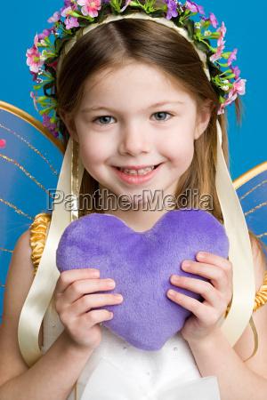 girl dressed as fairy princess