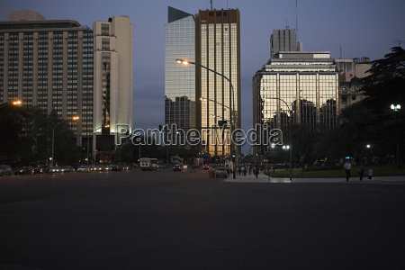 finance district in buenos aires