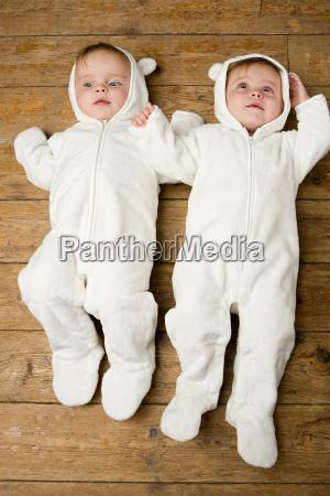 zwillingsbabys