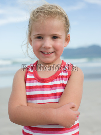 girl at the seaside