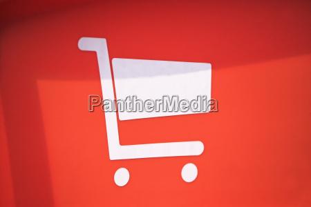 einkaufswagen symbol