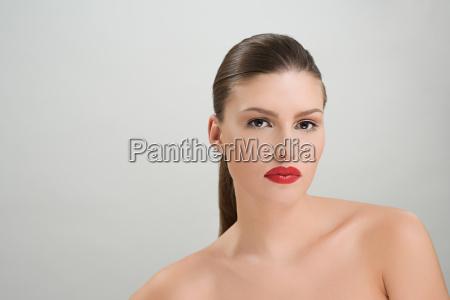 a beautiful brunette woman
