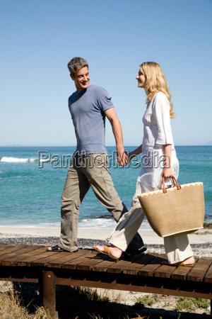 couple at the coast