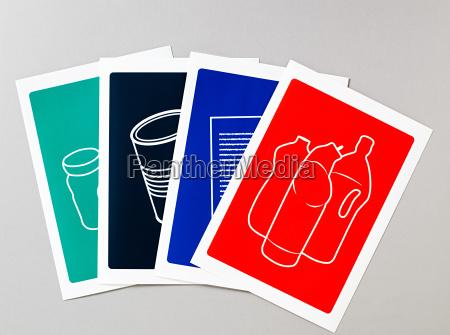 recycling illustrationen