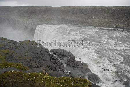 iceland skogafoss waterfall