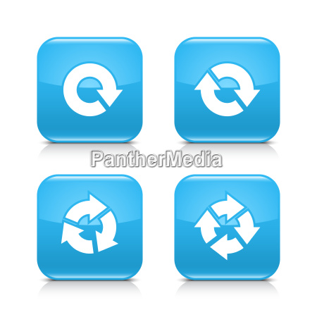 blauer pfeil refresh reload rotation wiederholungszeichen