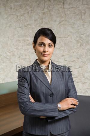 portrait of an indian businesswoman