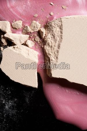 foundation and nail varnish