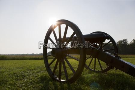 cannon wilderness battlefield fredericksburg and spotsylvania