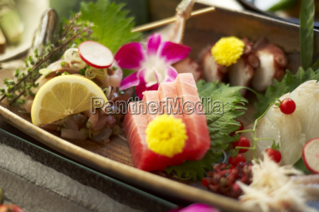 still life of rustic food with