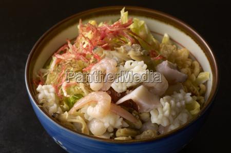 still life of raw fish and
