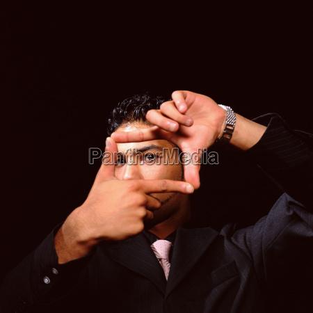 hand finger maennlich mannhaft maskulin viril