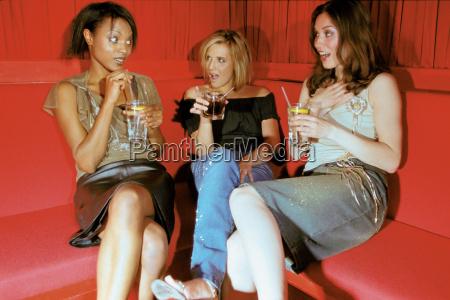 women, having, a, drink - 18748816