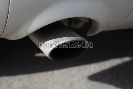 autoabgasleitung