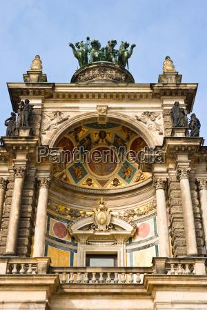 stadt stein statue balkon deutschland brd