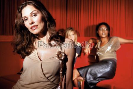 portrait, of, a, women, in, nightclub - 18754380