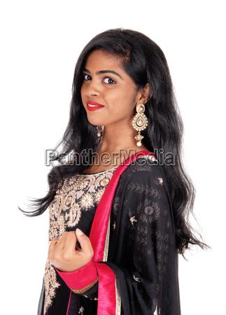 beautiful east indian woman