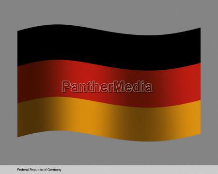 deutschland brd bundesrepublik deutschland fahne flagge
