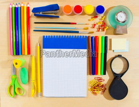 studieren studium tafel schreibtisch werkzeuge objekte
