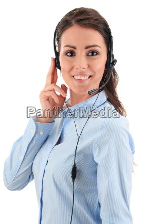call center angestellter kundendienst beratungsstelle