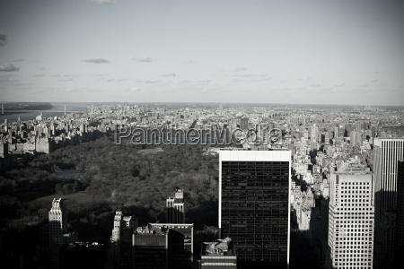 high, winkelansicht, des, central, parks, new - 18793880