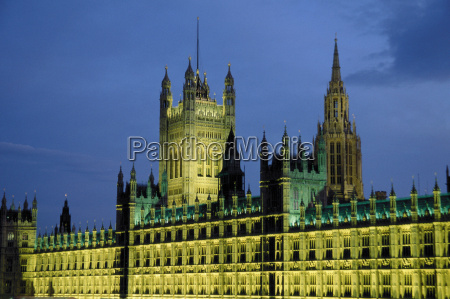 houses of parliament london great britain