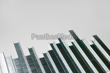 silber silbern skyline deal geschaeft business