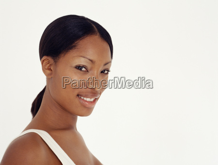 young african american woman