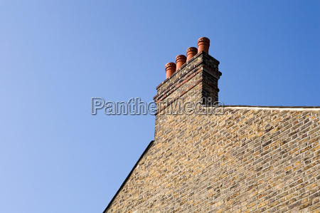chimney and side of house
