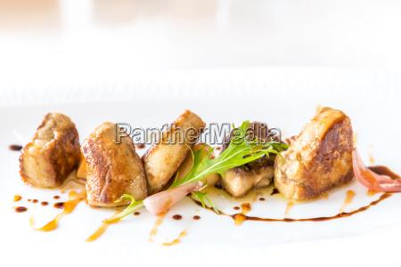 foie gras gegrillt