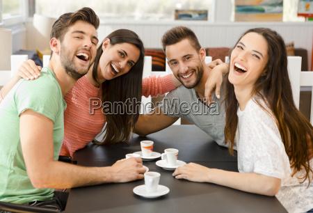 ein kaffee mit freunden