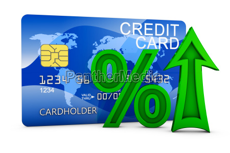arrow and credit card