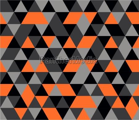 fliesenvektorhintergrund mit geometrischem mosaik des orange