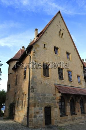 medieval castle altenburg in bamberg bavaria