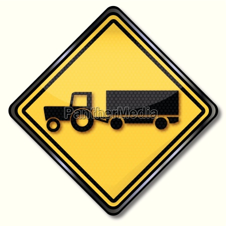 shield tractor trailer with harvest traffic