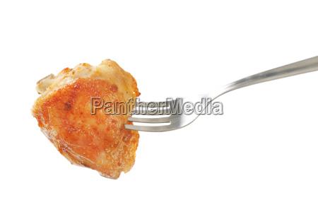 roasted chicken thigh