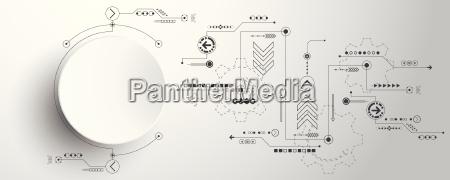 vector abstrakte hintergrundtechnologie innovation