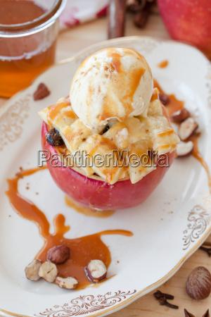 baked apple for christmas