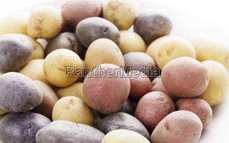 raw fisch kartoffeln