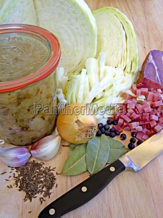 bayrisch kraut bavarian cabbage