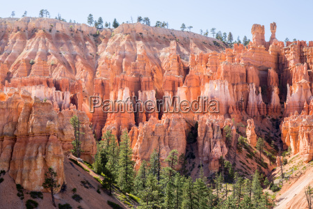 mittags blick auf bryce canyon national