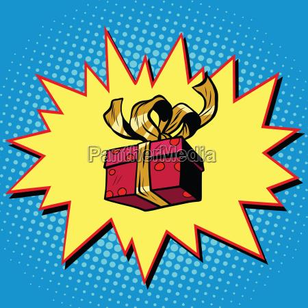 weihnachts oder valentinstag geschenkbox
