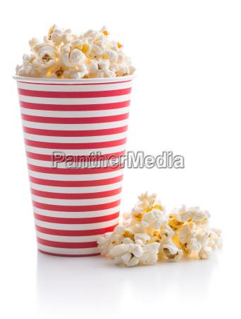 leckere gesalzene popcorn