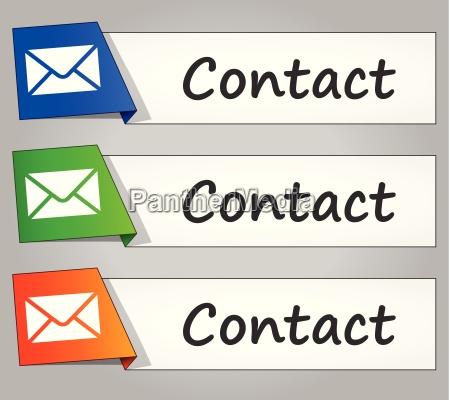 kontakt buttons