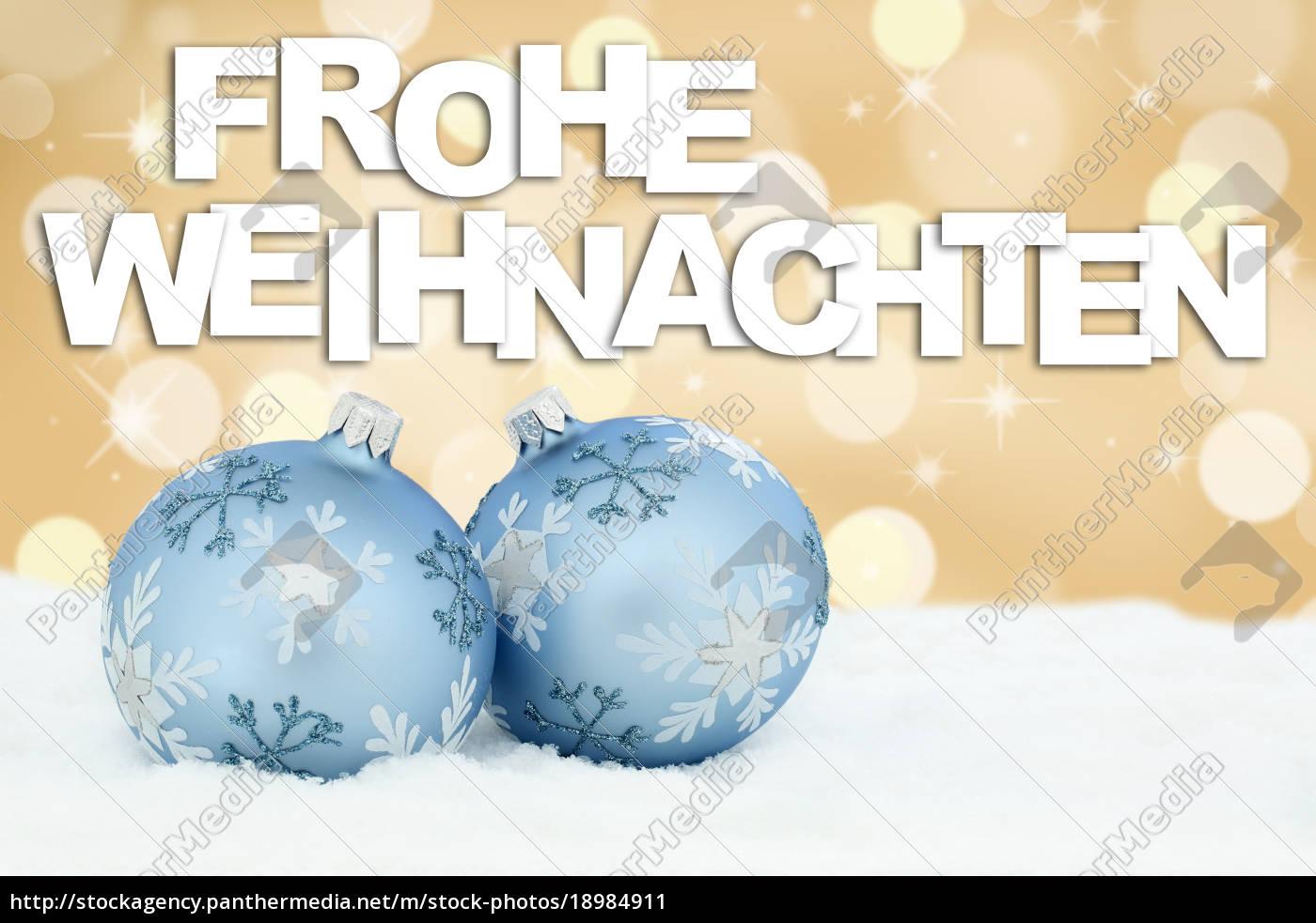 Frohe Weihnachten Text Karte.Lizenzfreies Bild 18984911 Frohe Weihnachten Gold Weihnachtskarte Karte Weihnachtsdeko