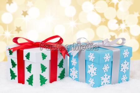 christmas gifts give golden christmas gift